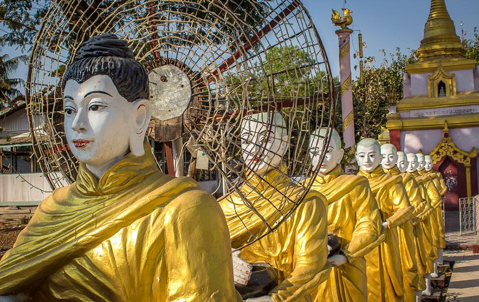 Adventure  around Myanmar 12 days